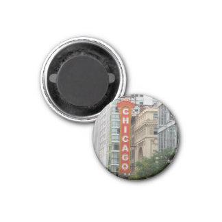 Chicago 1 Inch Round Magnet