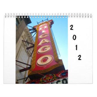 Chicago 2012 Calendar