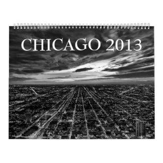 "Chicago 2013 Calendar (Black & White - 14x22"")"