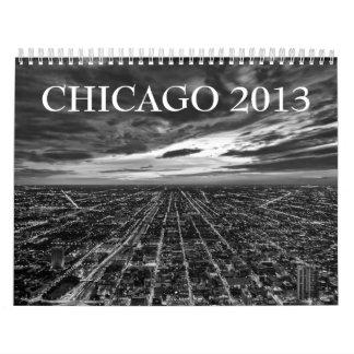 Chicago 2013 Calendar (Regular Black & White)