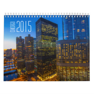 Chicago 2015 wall calendars