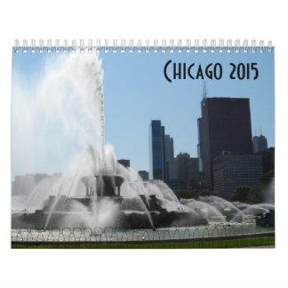 Chicago 2015 calendario de pared