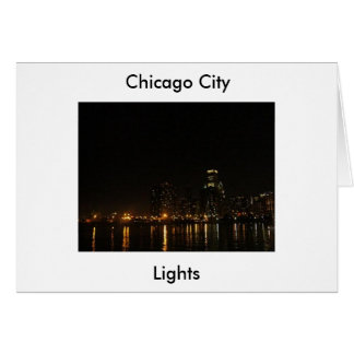 Chicago (3) card