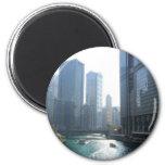 Chicago (4) 2 inch round magnet