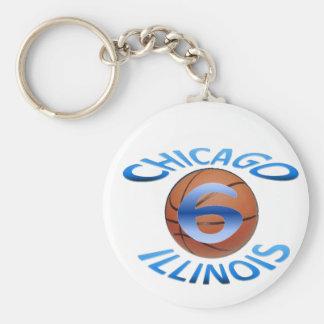 Chicago 6 KeyChain