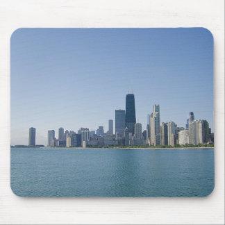 Chicago a través del lago mouse pad