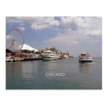 Chicago - A view of Navy Pier Post Card