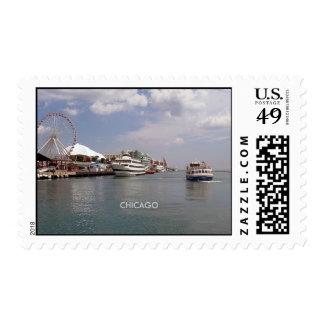 CHICAGO...A view of Navy Pier Postage
