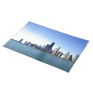 Chicago Across the Lake Cloth Place Mat