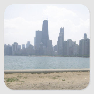 Chicago Across the Water Sticker
