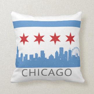 Chicago: Almohada ventosa de la ciudad Cojín Decorativo