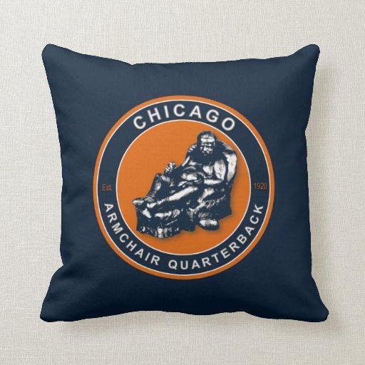 Chicago American MoJo Football Pillow