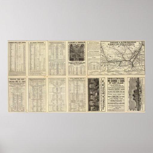 Chicago and Alton Railroad 2 Print