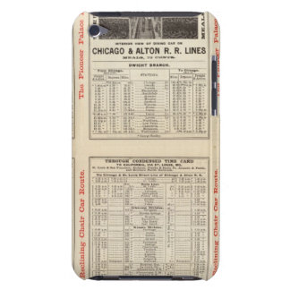 Chicago and Alton Railroad 3 iPod Touch Cover