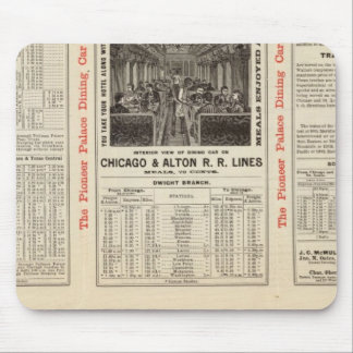 Chicago and Alton Railroad 3 Mouse Pad