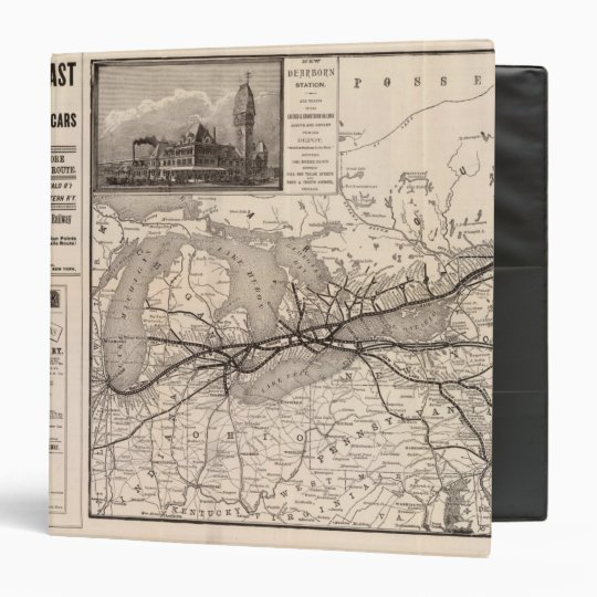 Chicago and Grand Trunk Railway Binder