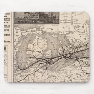 Chicago and Grand Trunk Railway Mouse Pad