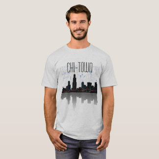 Chicago and L-Train (Chi-Town) T-Shirt
