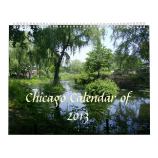 Chicago and Lake Michigan Calendar