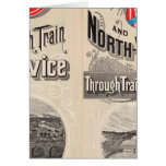 Chicago and North Western Line Card