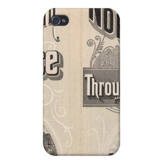 Chicago and North Western Line iPhone 4 Case