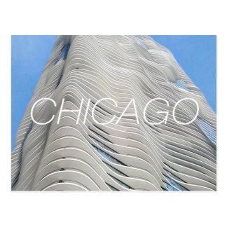 Chicago Aqua Tower Postcard