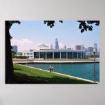 Chicago Aquarium poster