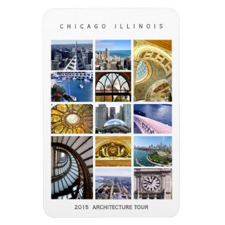 Chicago Architecture Magnet