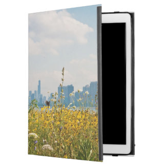 Chicago as seen from Montrose Harbor's bird iPad Pro Case