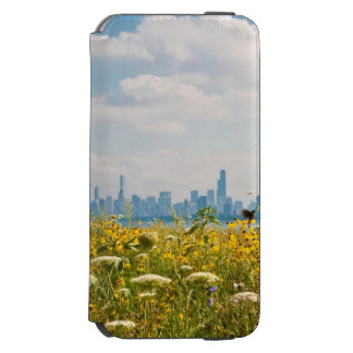 Chicago as seen from Montrose Harbor's bird iPhone 6/6s Wallet Case