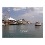 Chicago:  At Navy Pier Post Card