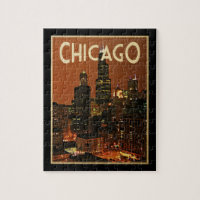 Chicago At Night Puzzles