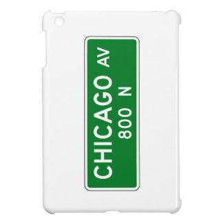 Chicago Avenue, Chicago, IL Street Sign Cover For The iPad Mini
