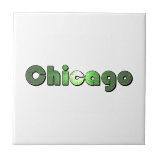 Chicago Azulejo Cuadrado Pequeño