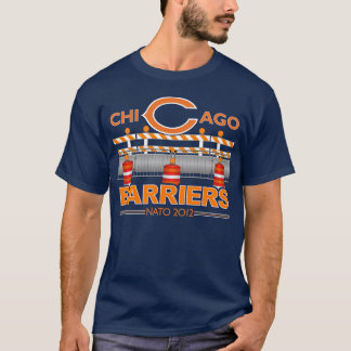 Chicago Barriers (Blue) NATO 2012 T-Shirt