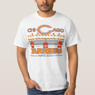 Chicago Barriers (White) NATO 2012 T-Shirt