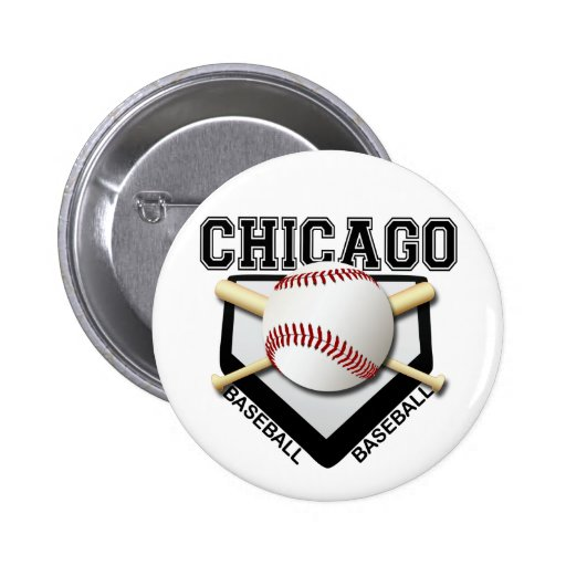 CHICAGO BASEBALL BUTTONS