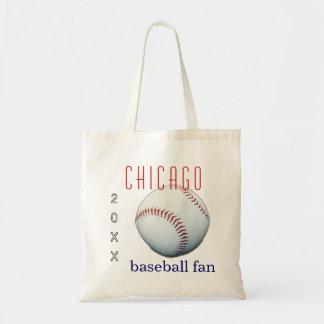 Chicago Baseball Fan Tote Bag
