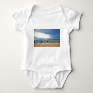 Chicago beach baby bodysuit