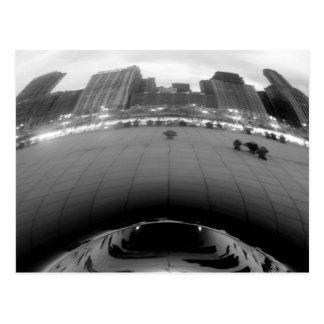 Chicago Bean Postcard