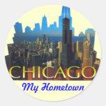 CHICAGO BEAUTIFUL LANDMARKS STICKER