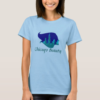 Chicago Beauty in Blue T-Shirt