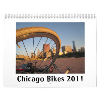 Chicago Bikes 2011 Calendar