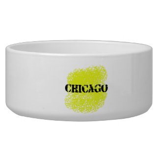 Chicago - Black and Yellow Bowl