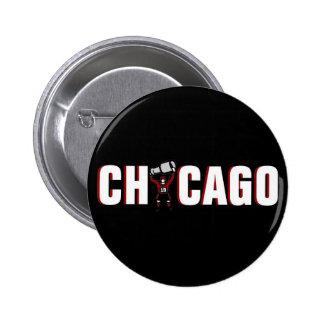 Chicago Blackhawks: Campeones de Stanley Cup Pin Redondo De 2 Pulgadas