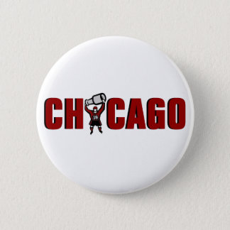 Chicago Blackhawks: Stanley Cup Champions Pinback Button