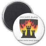 Chicago Blaze Magnet