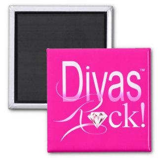 """CHICAGO BLING - """"Divas Rock!"""" Magnet"""
