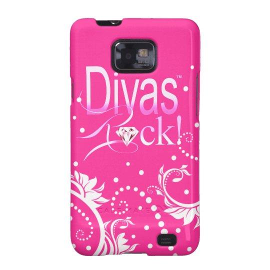 "CHICAGO BLING - ""Divas Rock!"" Samsung Galaxy S2 Cover"