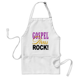 "CHICAGO BLING - ""Gospel Divas Rock!"" Adult Apron"